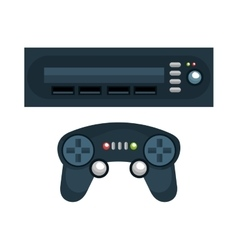 video game interface isolated icon vector image