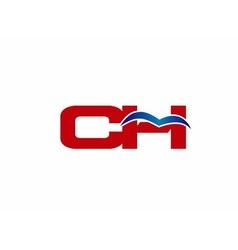 C and H logo vector image