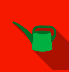 Watering can icon of for web vector