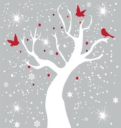 Snow bird vector