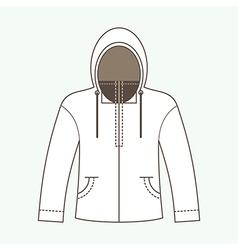 Hoodie jacket vector