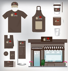 Cafe shop set can be used for layout flyer banner vector