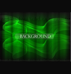 many fine lines on a green background vector image