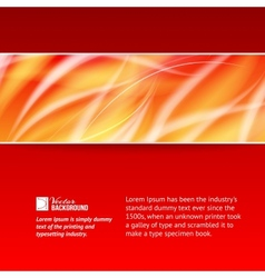 Abstract smooth horizontal background vector