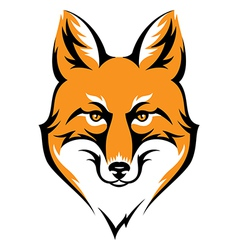 Fox color vector