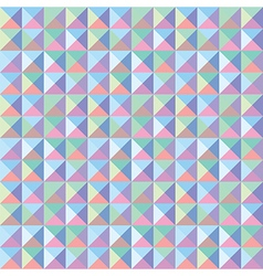 Colorful triangle pattern1 vector image