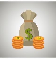 economy concept design vector image