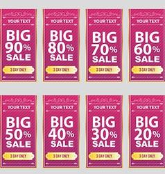 big sale Big Sale Best offer badge sticker vector image vector image