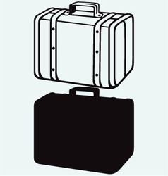 Travel Suitcase vector image vector image