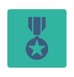 Army award icon from award buttons overcolor set vector