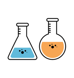 Science-related objects design vector