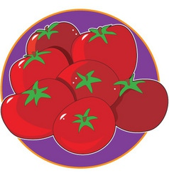 Tomato graphic vector