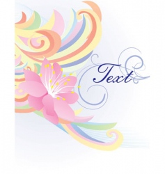 bright wave vector image vector image