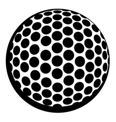golf ball icon icon cartoon vector image