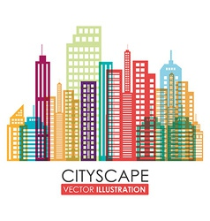 Urban design vector