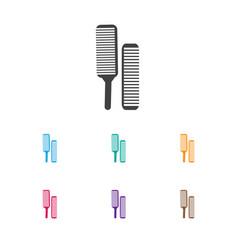 Of hairdresser symbol on salon vector