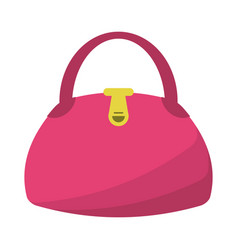 Woman handbag fashion style vector
