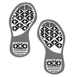 Otisak cipela3 vector image