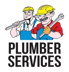 Plumber services resize vector