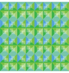 Abstract background green and blue pattern design vector