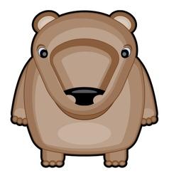 cartoon of cute baby bear vector image