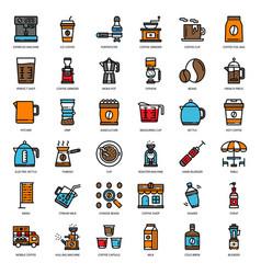 Coffee story vector