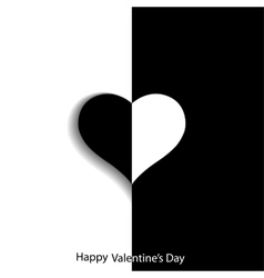 Creative card for Valentines Day vector image vector image