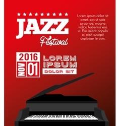 Festival jazz celebration music desing vector