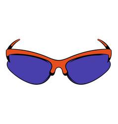 sunglass icon icon cartoon vector image