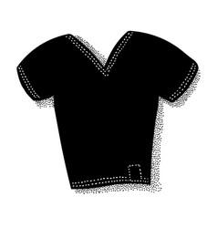 Cartoon image of t-shirt icon shirt symbol vector