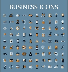 Set of web icons for business communication and vector