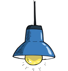 Ceiling light vector