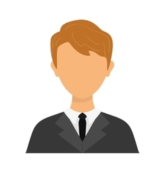Businessman avatar icon person design vector