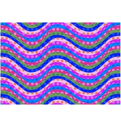 Seamless curve pattern vector
