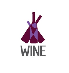 Wine design template vector