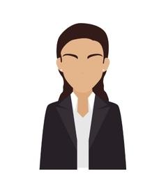 Women business suit leader vector