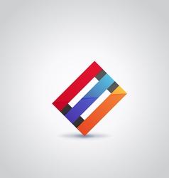 Logo abstract2 vector image