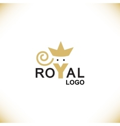 Royal logo symbol vector