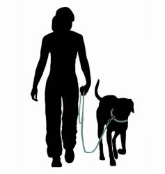 Dog training vector
