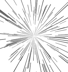 points of the star and explosion hazard vector image