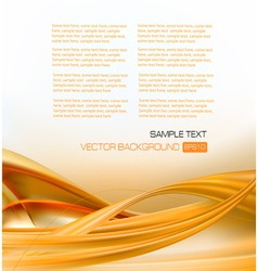 abstract gold elegant business background vector image