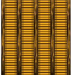 Background of wooden slats vector image
