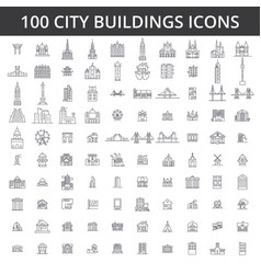 city buildings architecture real estate urban vector image vector image