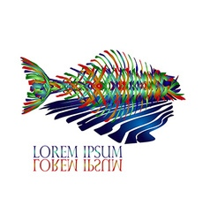 Fish Logo2 vector image