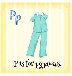 Pyjamas vector