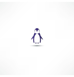 Penguin icon vector