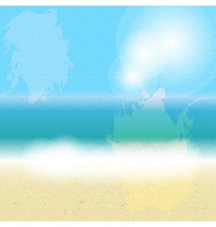 Summer holidays background vector