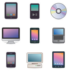 Computers devices vector