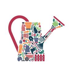 garden symbol vector image