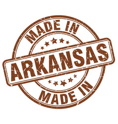 Made in arkansas vector